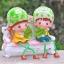 ตุ๊กตาเรซิ่นห้อยขาสวนผักที่รักตกแต่งบ้านน่ารักๆด้วยตุ๊กตา ขนาด 4*10 cm. thumbnail 4