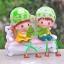 ตุ๊กตาเรซิ่นห้อยขาสวนผักที่รักตกแต่งบ้านน่ารักๆด้วยตุ๊กตา ขนาด 4*10 cm. thumbnail 5