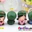ตุ๊กตาเรซิ่นห้อยขาน่ารักทหารสื่อรัก ขนาด 5*6*8 cm. thumbnail 3