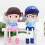 ตุ๊กตาเรซิ่นห้อยขาครอบครัว Sweet home ตุ๊กตาเรซิ่นครอบครัว ขนาด 4*5 cm. , 6*16 cm. thumbnail 7