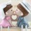 ตุ๊กตาเรซิ่นห้อยขาของขวัญของฝากให้กับคนที่คุณรัก ขนาด 7*12*19.5 cm. thumbnail 3