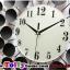 นาฬิกาติดผนังใบโพธิ์สุดเก๋ตกแต่งบ้านด้วยนาฬิกาสไตล์โมเดล ขนาด 21*60*60 cm. thumbnail 2