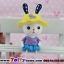 ตุ๊กตาเรซิ่นห้อยขากระต่ายน้อยหูยาวของแต่งบ้านน่ารักๆ ขนาด 5*15 cm. thumbnail 5