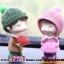 ตุ๊กตาเรซิ่นห้อยขาน่ารักตกแต่งหน้ารถ ขนาด 6*10 cm. thumbnail 3
