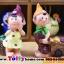 ตุ๊กตาเรซิ่นห้อยขาหนุ่มสาวสวนผล ขนาด 3.5*8.5 cm. thumbnail 1