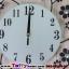 นาฬิกาติดผนังดอกไม้ร่ายรำประดับคริสตังเงินสุดทันสมัย ขนาด 24*53*53 cm. thumbnail 9