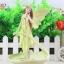 ตุ๊กตาเรซิ่นห้อยขานางฟ้าแสนสวยของแต่งบ้านแนววินเทจ ขนาด 12*13*20 cm. thumbnail 4