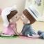 ตุ๊กตาเรซิ่นห้อยขาของขวัญของฝากให้กับคนที่คุณรัก ขนาด 7*12*19.5 cm. thumbnail 2