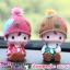 ตุ๊กตาเรซิ่นห้อยขาน่ารักตกแต่งหน้ารถ ขนาด 6*10 cm. thumbnail 1