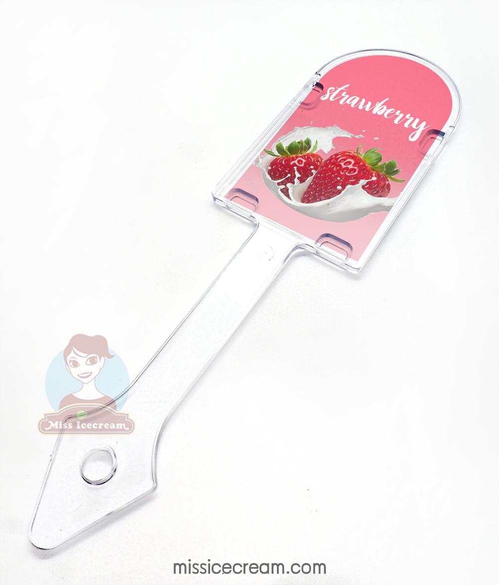 PMS ป้ายบอกรสทรงไอศกรีมแท่ง Gelato Marker Pop