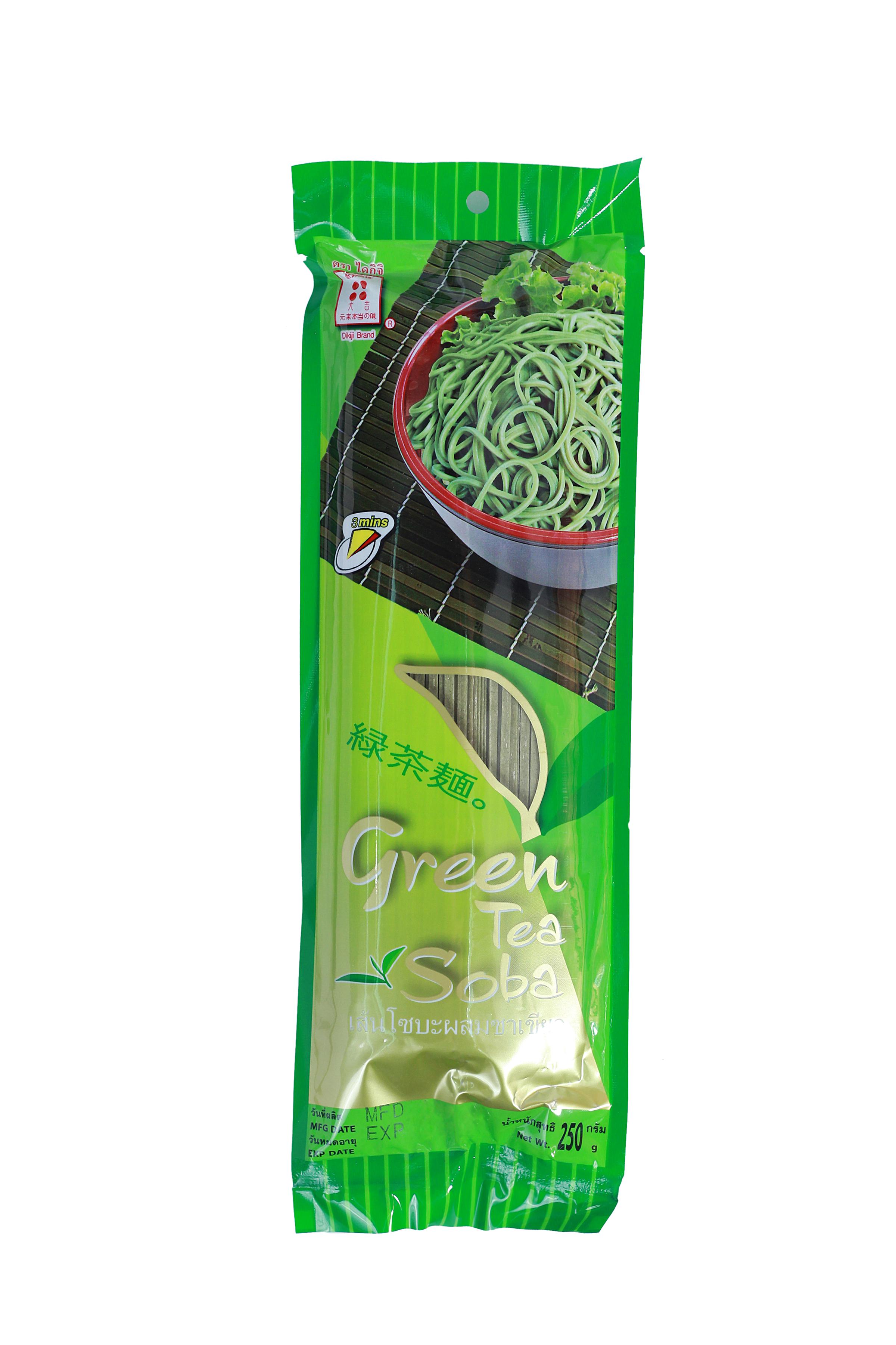 GREEN TEA SOBA - เส้นโซบะผสมชาเขียว